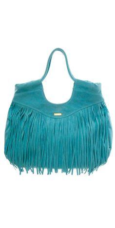 Ondade Mar 2014 Blue Fringe Tote Bag #Ondade #2014 #Blue #Fringe #ToteBag #Beach #Bag #Southbeach #Southbeachswimsuits