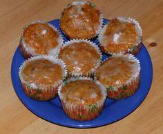 Mrkvové muffiny ( bezlepkové)