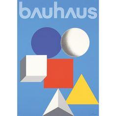 Bauhaus poster by Herbert Bayer