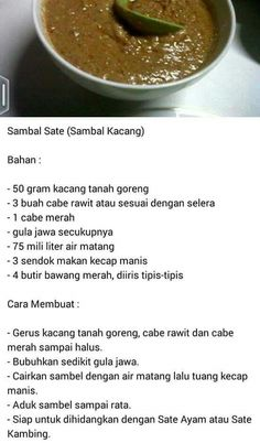 Indonesian Sambal Recipe, Indonesian Cuisine, Sambal Sauce, Malay Food, Malaysian Food, Other Recipes, Food Hacks, Asian Recipes, Food To Make