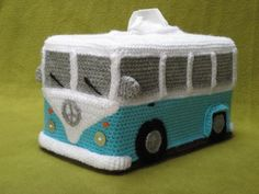 (4) Name: 'Crocheting : Volkswagen Bus Campervan VW Hippie Style