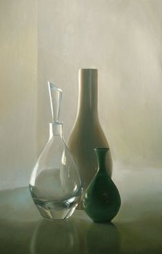 "David Cunningham, Trinity, Oil on Panel, 18""5x28.5"", sold"