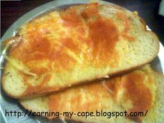 Garlic Cheese Bread (Made on the Stove Top)