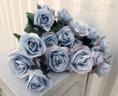 Bride in Bloom Weddings carries high-quality handcrafted Wedding bouquets, Bridal accessories, Wedding decor & DIY Packages complete with how-to videos. Blue Roses Wedding, Rose Wedding Bouquet, Diy Wedding Flowers, Wedding Ideas, Wedding Things, Fall Wedding, Wedding Reception, Dream Wedding, Silk Roses