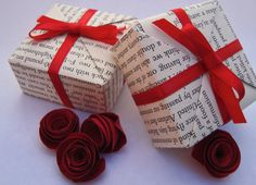 Mini Gift Box by frillsandbils, $2.00...OR DIY Craft with Beautiful Gift Box as a Result