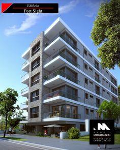 Studios and projects on pinterest - Fachadas edificios modernos ...