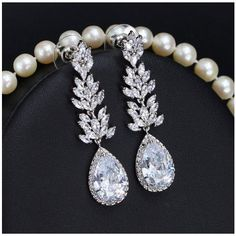 Engagement & Wedding Stunning White Pearl & Ab Crystal Bride Wedding Formal Necklace Jewelry Set Chic Fixing Prices According To Quality Of Products Bridal & Wedding Party Jewelry