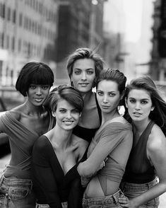 Crawford Told Us the Stories Behind Her Most Iconic Photos Cindy Crawford for British Vogue January, Crawford for British Vogue January, 1990 Peter Lindbergh, Linda Evangelista, Christy Turlington, Cindy Crawford, Naomi Campbell, Kate Moss, Tatjana Patitz, Carla Bruni, Patrick Demarchelier