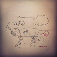 J'crois que j'viens de trouver la solution pour les matins. #Flemme #Draw #Inktober #Anart #Sleep #Morning #Bed