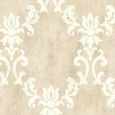 "Found it at Wayfair - Onyx Renna 33' x 20.5"" Damask Embossed Wallpaper"