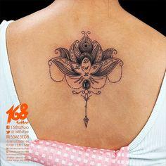 lotus back tattoo - Google Search