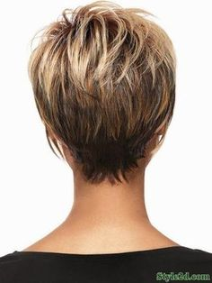 Idée coupe courte : Back View Of Short Hair Cute Short Haircuts 2014