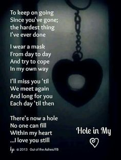 It's so hard to describe the pain you feel when someone so close ,someone so important is no longer here. I miss you daddy Miss You Daddy, Miss You Mom, Rip Daddy, Grief Poems, Missing My Son, Be My Hero, Super Soul Sunday, Love Quotes, Inspirational Quotes
