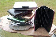 Aluminum wallets