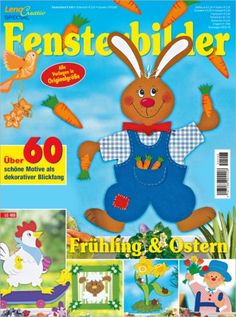 OZ Verlag Easter Crafts, Crafts For Kids, Paper Cutting, Tweety, Techno, Projects To Try, Crafty, Magazines, Decor