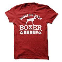 WORLDS BEST BOXER DADDY SHIRT - Hot Trend T-shirts
