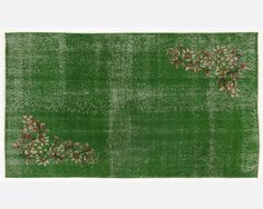 66 x 37 FT __198 X 112cm            Vintage Green by Apexcarpets, $288.00