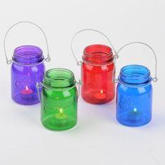 Colorful Mason Jar Lantern | Kirkland's