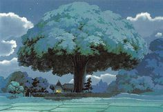 Art by 男鹿 和雄 Kazuo Oga* - Background Art | © Studio Ghibli*  • Blog/Website | (www.ghibli.jp)   ★ || CHARACTER DESIGN REFERENCES™ (https://www.facebook.com/CharacterDesignReferences & https://www.pinterest.com/characterdesigh) • Love Character Design? Join the #CDChallenge (link→ https://www.facebook.com/groups/CharacterDesignChallenge) Share your unique vision of a theme, promote your art in a community of over 50.000 artists! || ★