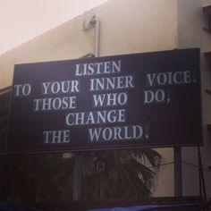 Change the world. The power is in you