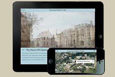 Capturing Windsor Castle app on tablet and mobile