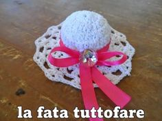 Tutorial: cappello per bomboniera - YouTube