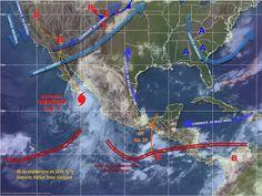 Huracán Newton provocará tormentas muy fuertes en Chihuahua | El Puntero