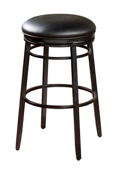 Silvano 26 in. Counter Stool in Black