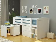 Won't work. Chester midsleeper £397 sleeplandbeds.co.uk L:1990mm W:1055mm H:1219mm Not reversible