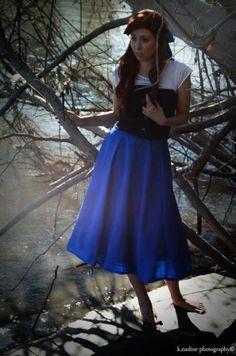 The Little Mermaid Ariel's Kiss the Girl Dress. $125.00, via Etsy.