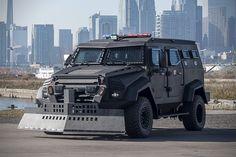 zombie apocalypse truck INKAS Sentry APC Assault Vehicle