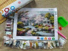 Looking for a fun new hobby? DIY Rhinestone Art Philippines offers great quality rhinestone art kits at the best prices. Rhinestone Art, Cross Stitch, Arts And Crafts, Craft Ideas, Diamond, Artwork, Diy, Painting, Punto De Cruz