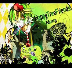 Anime happy tree friends