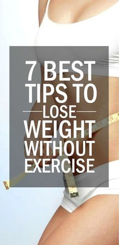 How to lose weight without exercise or diet? And moreover look toned? Believe it or not, there are some exercise alternatives which can enable you to shed those extra pounds! All you need to do is follow these tips with commitment and discipline.