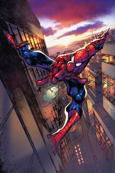 Angel Medina Spider-man my colors by JoeyVazquez on @DeviantArt