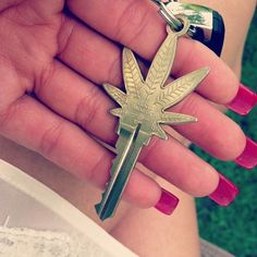 I want one. Marijuana Key