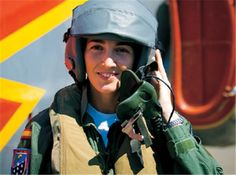Rosa García Malea, first Spanish Air Force fighter pilot