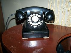 Nineteen fifties Lucy phone.