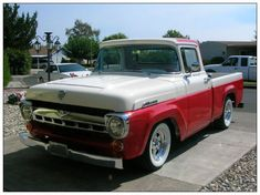 "Ford Pick Up Serie ""F"" 1957 a 1960"
