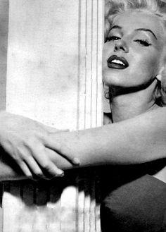 Marilyn Monroe photographed by Nick de Morgoli, 1953