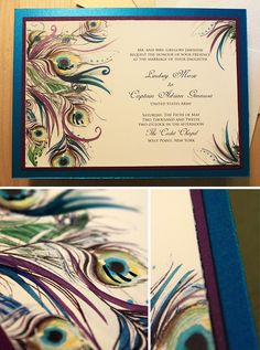 These are beautiful invitations. I could do Starry Night invitations for my Starry Night wedding.