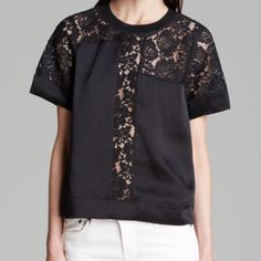 Rebecca Taylor lace silk blouse 2 Brand new ❌ sorry no trades - price is firm even if bundled ❌ Rebecca Taylor Tops