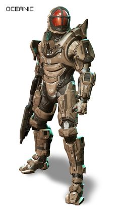 "HALO 4 Armor (I think someone was watching ""2000 Leagues Undersea""when they though of this one. It's a little goofy but i like it)"