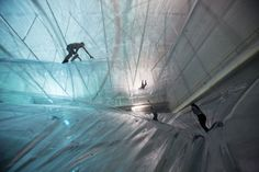 'On Space Time Foam' by Tomás Saraceno