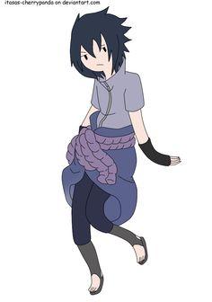 Sasuke Uchiha adventure time style by itasasu2002 on deviantART