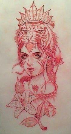 People Tattoos: Woman