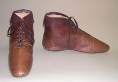 American Boots, ca 1810-1820 Metropolitan Museum of New York, Accession Number: 11.60.202a, b