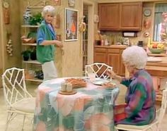 Watching The Golden Girls in a fit of insomnia and realized they have the exact kitchen chairs I want. I am not sure how I feel about this.