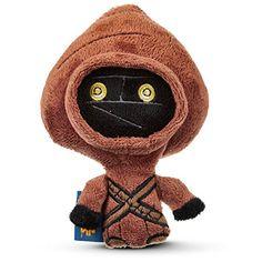 "STAR WARS Jawa Plush Dog Toy, 6"" L X 8"" W, Medium, Brown"