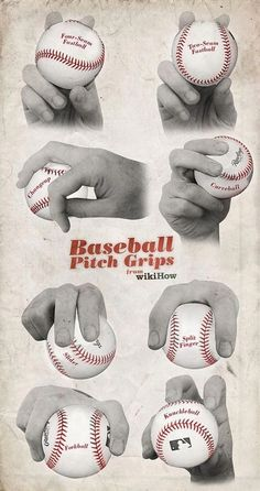 How to Pitch a Baseball. Baseball is one of the most beloved American pastimes. However, you can still learn to pitch no matter where you are located in the world! Learning how to pitch properly takes dedication, an understanding of the. Baseball Pitching, Baseball Tips, Baseball Training, Baseball Quotes, Sports Baseball, Baseball Mom, Baseball Cards, Baseball Stuff, Baseball Field